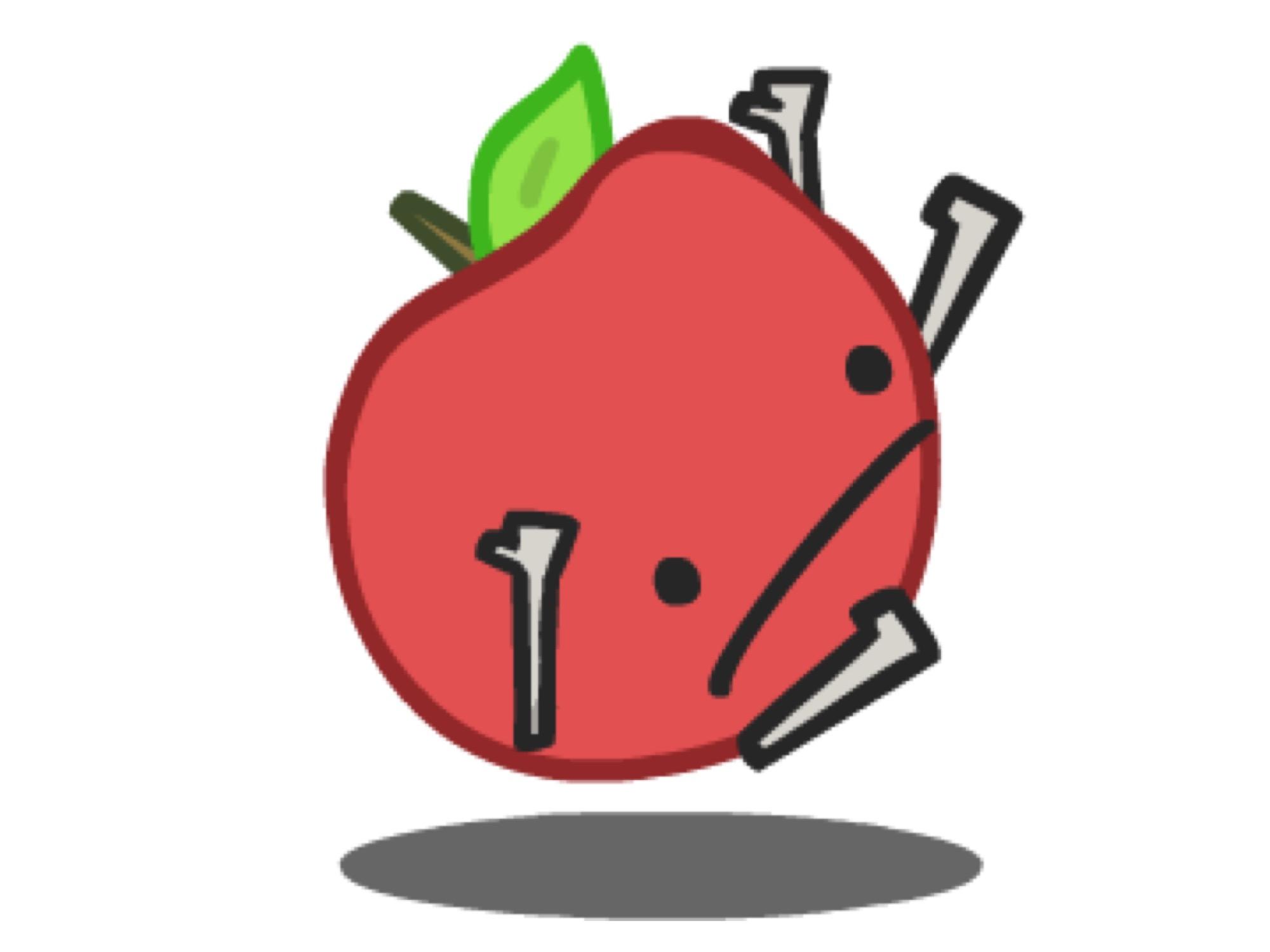 manzana gravedad